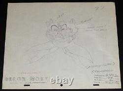 Disney Chip N Dale Clarice Deux Jetons Et Un Jeu De Dessin De Production Miss 1952 De 2