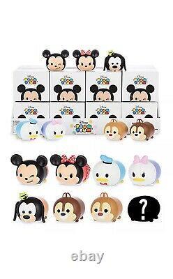 Disney Vinylmation 3 Tsum Tsum Blind Box Deux Ensembles Complet De 8 Avecchaser Seeled