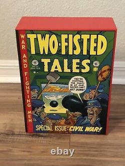 Ec Comics L'ensemble Complet De Couverture Rigide À Deux Volets 18-41 Nm 1-4 Comic 1980