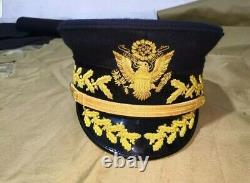 Ensemble De Deux Chapeaux Généraux De L'armée Américaine Ww1
