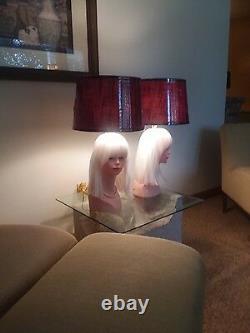 Ensemble De Lampe Frontale De Mannequin De Deux