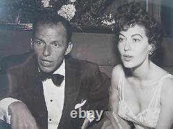 Frank Sinatra Et Ava Gardner Original 8 By 10 Two Photo Set 1953 Par Frank Worth