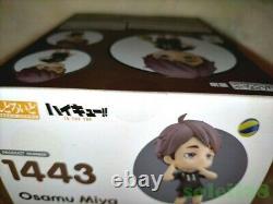 Haikyu Nendoroid 1443 Osamu Miya Avec Deux Cartes Postales Spéciales Non À Vendre Set Nouveau