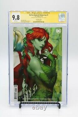 Harley Quinn & Poison Ivy #1 Cgc 9,8 Couvertures De Recouvrement D'artgerme Ss (set De Deux)