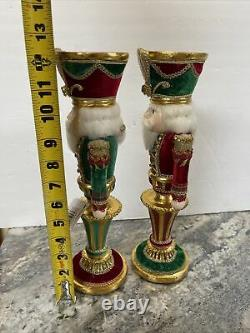 Katherine's Collection Casse-noisette Candle Holder 12-1/2 Ensemble De Deux 28-928477