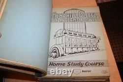 L'hemphill Diesel Engineering Schools Notes Verbales Et Croquis Lot Set De Deux
