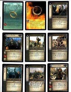 Le Seigneur Des Rings Arrêt Les Deux Towers Complete Lettre De 365 Cards Plus Plus
