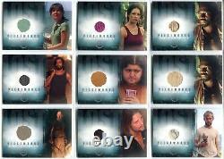 Lost Season 2 Two (14) Ensemble De Cartes Déguisement Pour Pièces Pw1-pw11 Avec Pw12a + Pw12b
