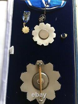 Médaille De L'étoile Du Sein De L'ordre Des Deux Nils Du Soudan Du Sud