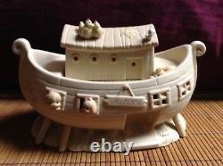 $ Moments Précieux Noahs Ark Deux 2 Par 2 Lot 11 Pièce Set 2 X 2 Boîtes De Collection