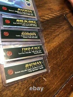 Overpower Holo Set 5 Of 6 DC Batman Avenger Detective Gordon Ra's Two-face