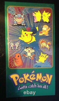 Pokemon Topps Chrome Supersize Series One & Two All 10 Jumbo Cards Ensemble Complet