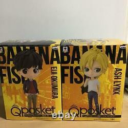 Q Posket Poisson De Banane Ensemble De Deux Corps Figure Ash Liens Eiji Okumura Anime Manga Jpn