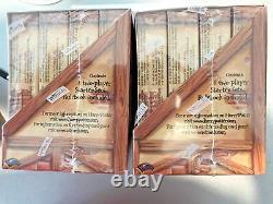 Rare! Harry Potter Two Player Starter Set Box Nouvel Affichage De Jeu De Cartes À Échanger
