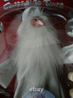Santa Claus Comin À Town Winter Warlock Memory Lane Ensemble De Deux En Boîte