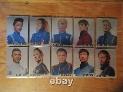 Star Trek Discovery Saison Deux Complete Tier 2 Master Set All Autographs (no Ab)