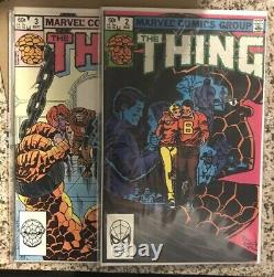 The Thing #1-36 Complete Set With Two #1 Clean Copies 1983 Marvel Comic Lot