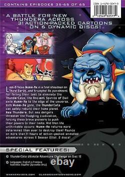 Thundercats DVD Saison Deux, Volume Deux Collection (6-disc Set) Brand New Rare