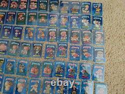Topps Garbage Pail Kids Sapphire Edition No Dupes Lot Set 102 + Deux Boîtes