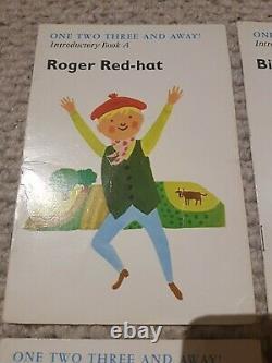 Un Deux Trois Livres D'introduction A À D Set Roger Redhat Ultra Rare