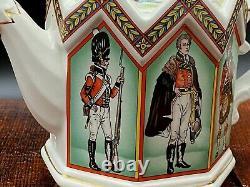 Vintage Ensemble De Deux Théières Sadler Reine Elizabeth Et Duc De Wellington