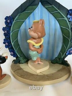 Wdcc Walt Disneys Two Chips And A Miss 4 Piece Set Est Livré Avec Coa